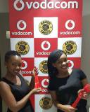 Promoters-welcoming-guests-in-the-Vodacom-Suite-at-the-Absa-Premier-Soccer-League